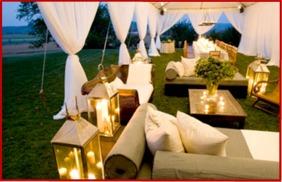 2014 Weddin Trends - Reception Lounge Area - Fitzgerald's Fine Catering